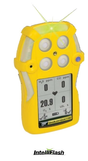 Honeywell GasAlertQuattro four-gas detector